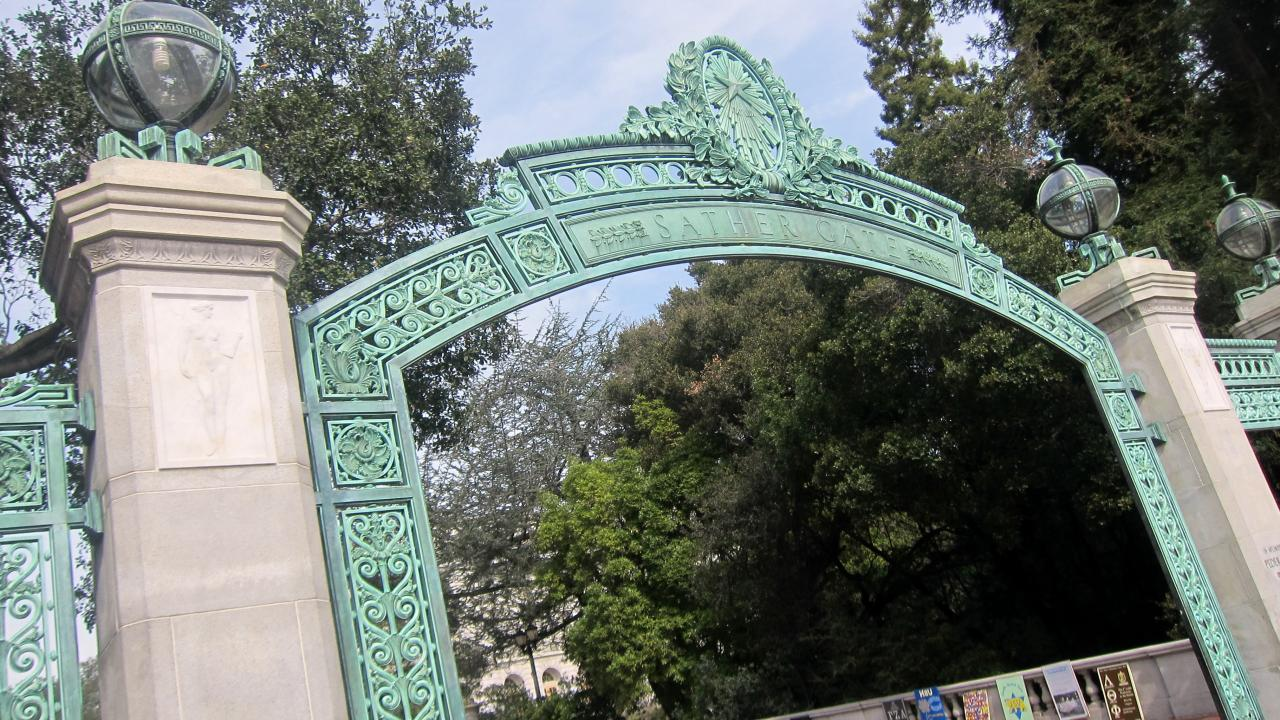UCB Sather Gate